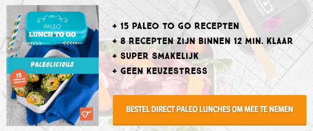 Paleo lunch recepten om mee te nemen