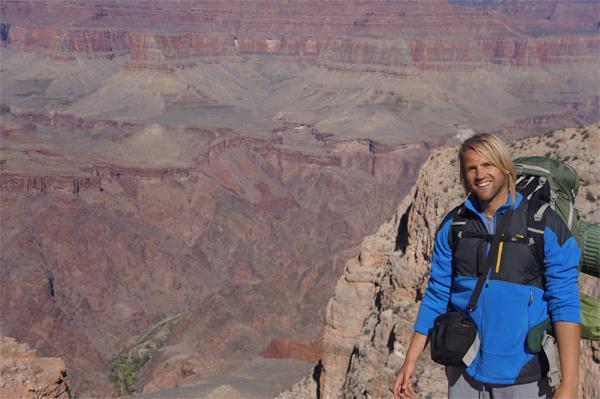 Hiking = Fun (ja, ook met al die tassen om je nek heen ;-) )