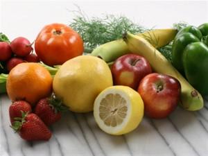 groente en fruit verhouden