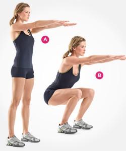 Goede squat techniek