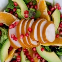 Salade met Kip en Granaatappel