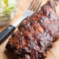 Paleo spareribs uit de oven