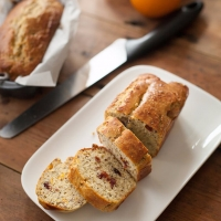 Feestelijke cranberry-sinaasappel broodjes