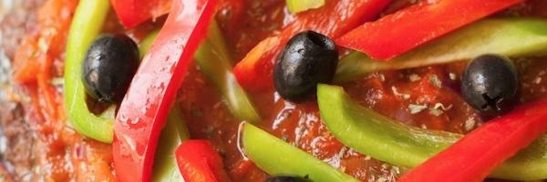 Paleo pepperoni meatza