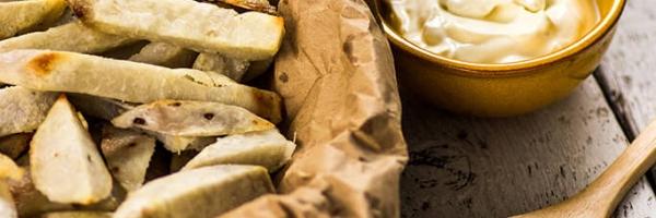 Taro frietjes