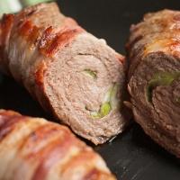 BBQ bacon steak roll
